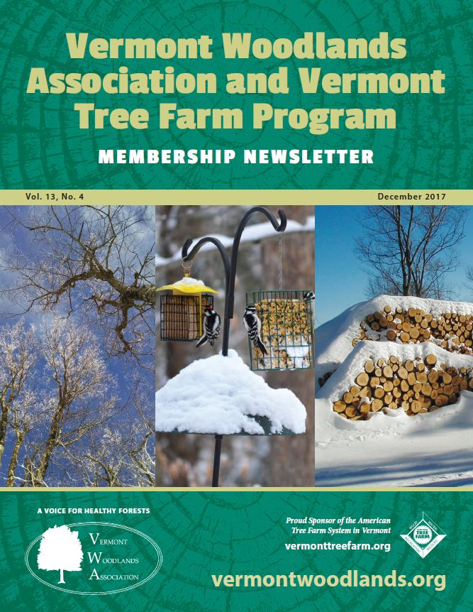 Vermont Woodland Association and Vermont Tree Farm Program newsletter
